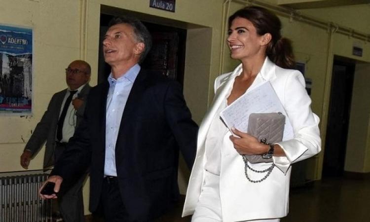 لبنانية من أم سورية تصبح سيدة الأرجنتين الأولى