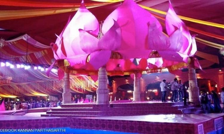 حفل زفاف هندى يتكلف 8 ملايين دولار .. بس !!