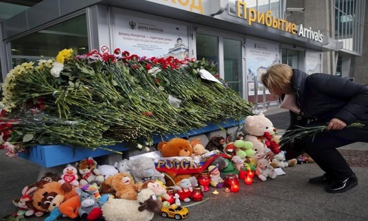 وصول جثامين ضحايا الطائرة الروسية لسان بطرسبرج