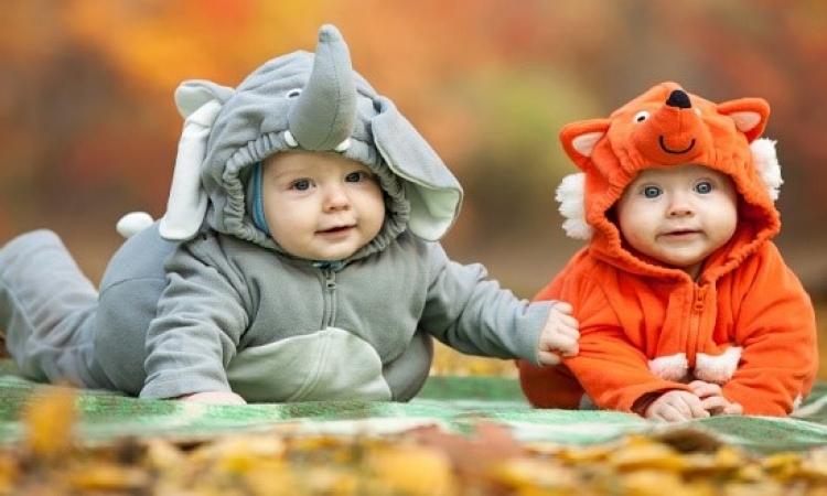 بالصور .. أطفال رضع يحتفلون بالهالووين .. يااااتى كميلة !!