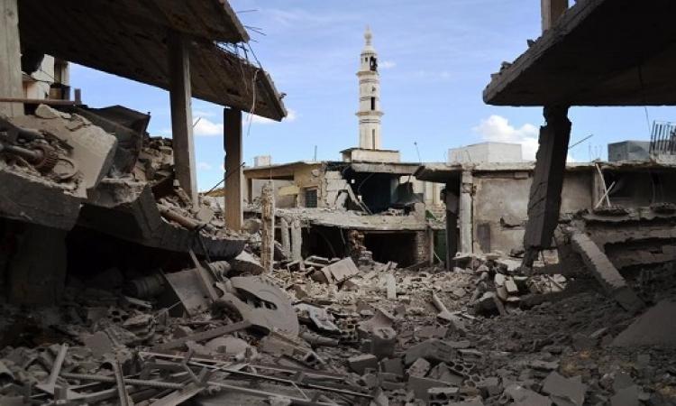 داعش يتقدم فى ريف حمص الشرقى ويستولى على مواقع للجيش السورى