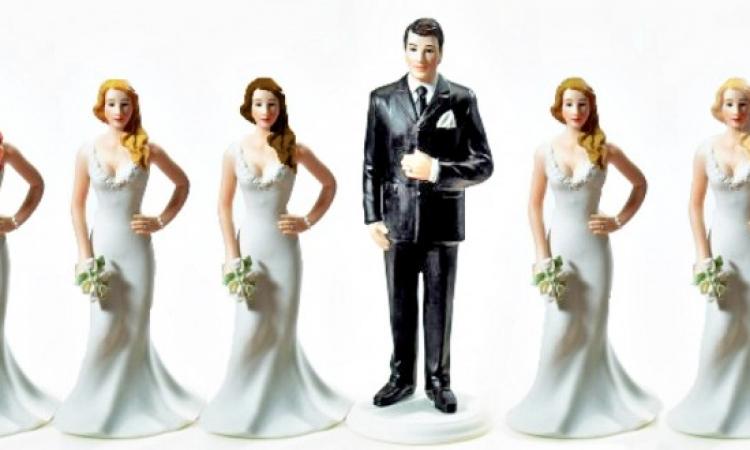 تعدد الزوجات مفيد لصحة الرجال .. والنساء : يا سوادك يا قرمط !!