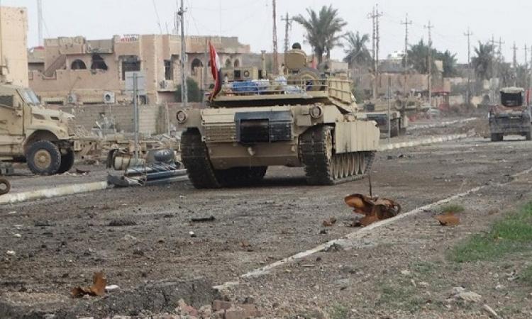 مقتل 10 من عناصر داعش خلال اشتباكات فى الرمادى