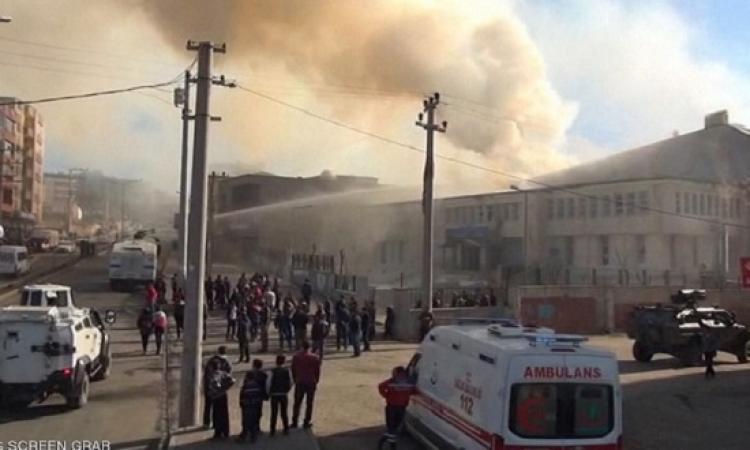 اشتباكات بين حزب العمال الكردستانى والجيش التركى فى ديار بكر