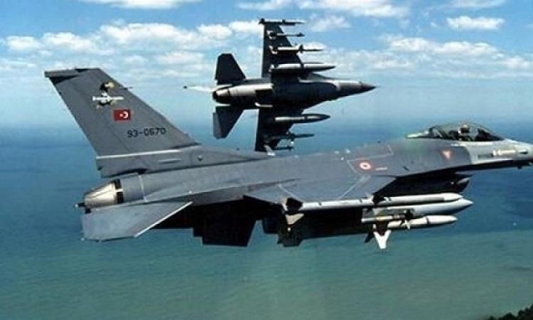 الدفاعات الجوية اليونانية تعترض مقاتلة اف – 16 تركية فوق مياه بحر إيجه