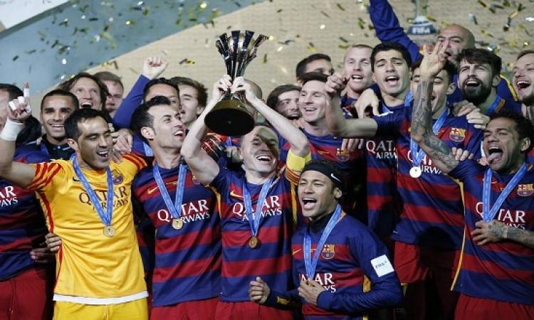 بالفيديو .. برشلونة يسحق ريفر بليت ويقتنص بطولة العالم