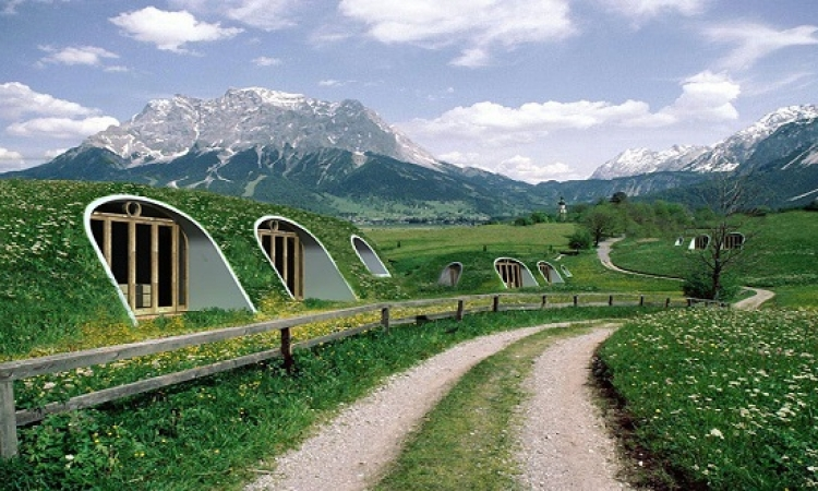 بالصور .. بيوت الـ Hobbit بقت حقيقة : تتعمل فى 3 أيام !!