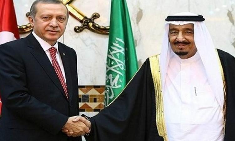 خادم الحرمين وأردوغان يبحثان تطورات الأحداث الإقليمية والدولية