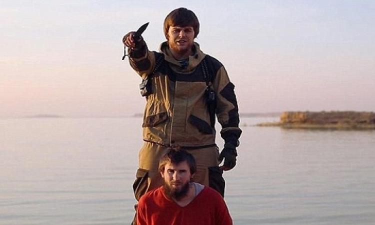 داعش يعدم 5 روس بتهمة التجسس فى نينوى