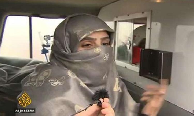 سجى الدليمى زوجة أمير داعش .. الجمال وراء نقاب !!