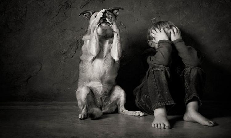 صور مذهلة لصداقة الاطفال بالحيوانات .. أحسن من البشر !!