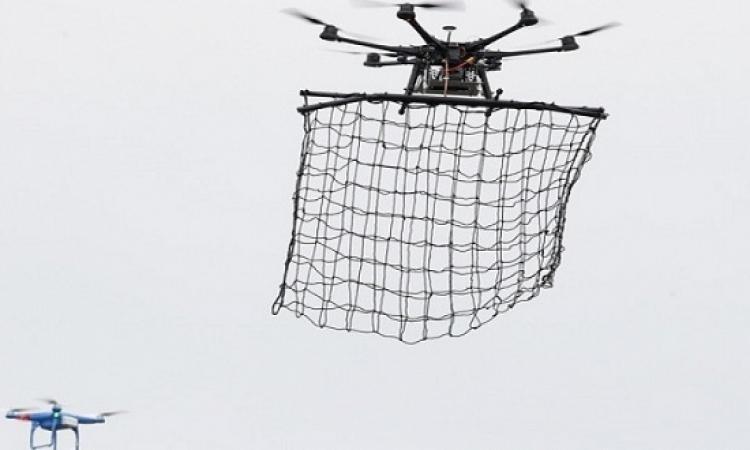طوكيو تكشف عن طائرة لاصطياد الطائرات بدون طيار