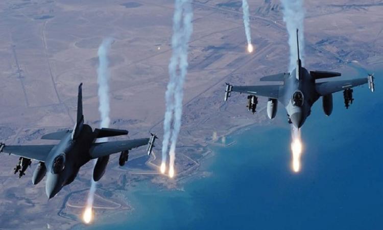 غارة غير مسبوقة للتحالف الدولى على معسكر للجيش السورى