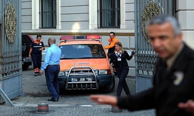 تهديدات أمنية القنصلية الأمريكية فى اسطنبول