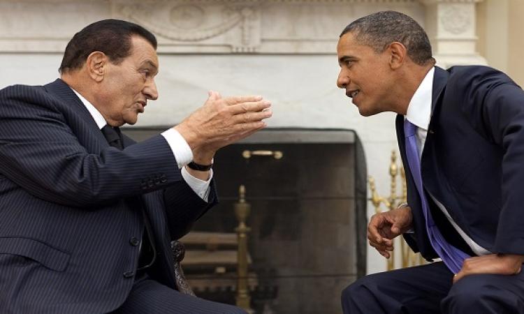 أوباما : أمريكا لم تفرض الريبع العربى ولم تطح بمبارك