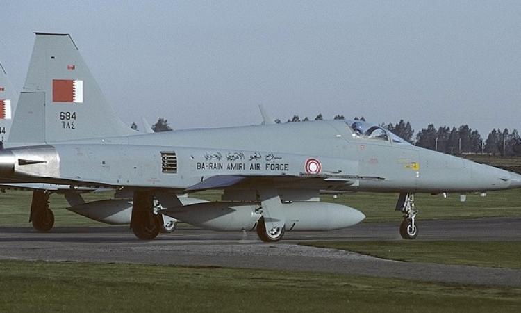 سقوط مقاتلة بحرينية فوق جازان ونجاة قائدها