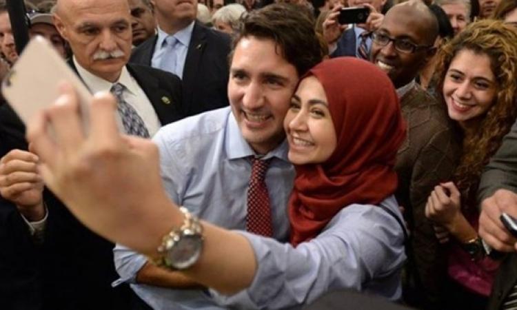 رئيس وزراء كندا: توطين اللاجئن السوريين مصدر قوة لبلادنا