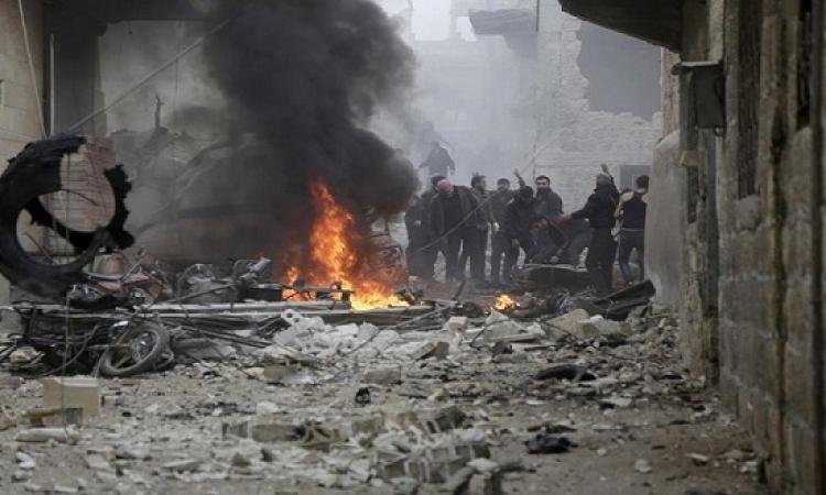 المرصد السورى : الغارات الروسية تقتل 471 مدنيا فى يناير
