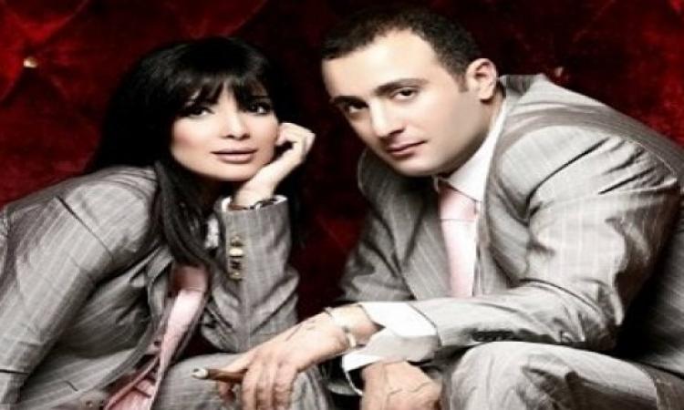 أحمد السقا ومنى زكى .. فى تصوير من 30 سنة