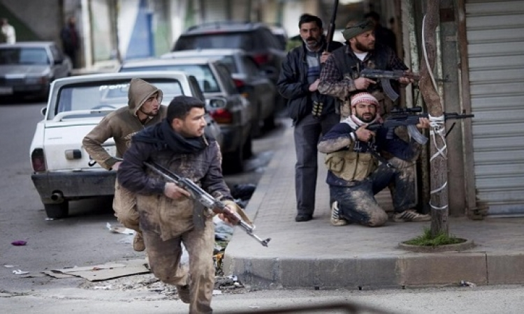 مائتى قتيل فى معارك بين داعش والجيش السورى بدير الزور