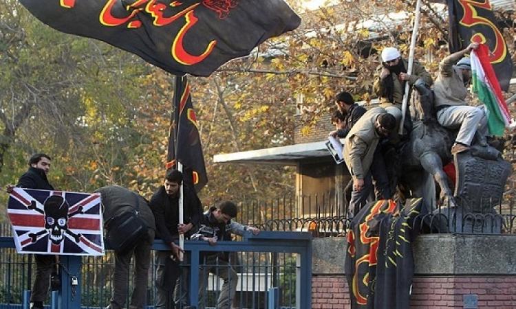 بالصور .. اقتحام السفارات .. صناعة إيرانية !!