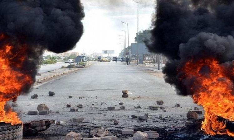 تراجع احتجاجات تونس بعد حظر التجول