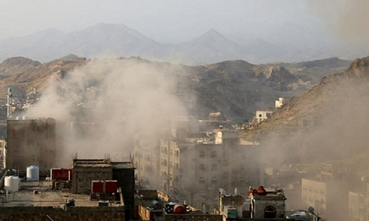 التحالف العربى يقصف مواقع للميليشيات الحوثية بصنعاء