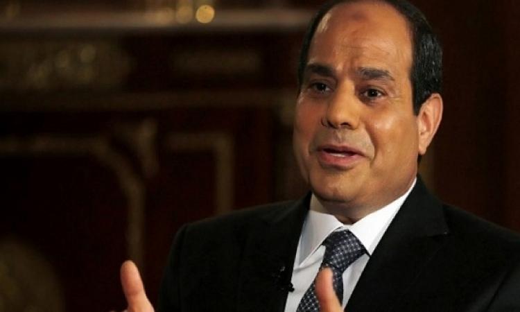 بالصور .. الرئيس السيسى يهنىء المصريين بعيد تحرير سيناء