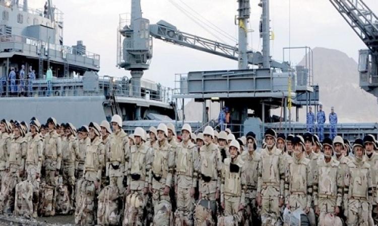 """عناصر من القوات المسلحة تسافر السعودية للمشاركة بـ""""رعد الشمال"""""""