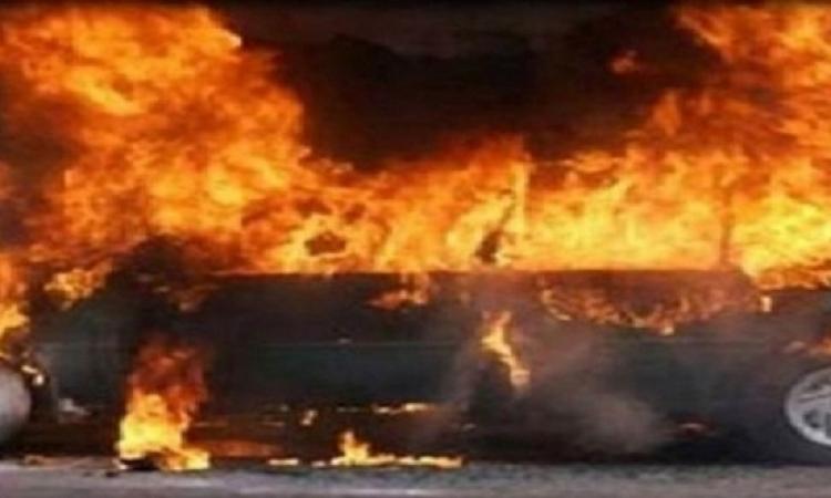 استشهاد عقيد و3 مجندين وإصابة 12 إثر تفجير مدرعة بالعريش