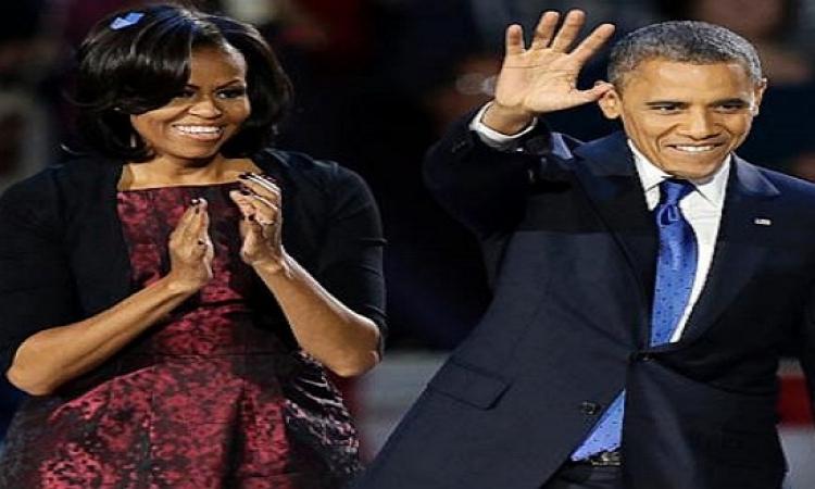 أوباما: هناك 3 أشياء مؤكدة في الحياة.. الموت والضرائب وعدم خوض زوجتى للانتخابات