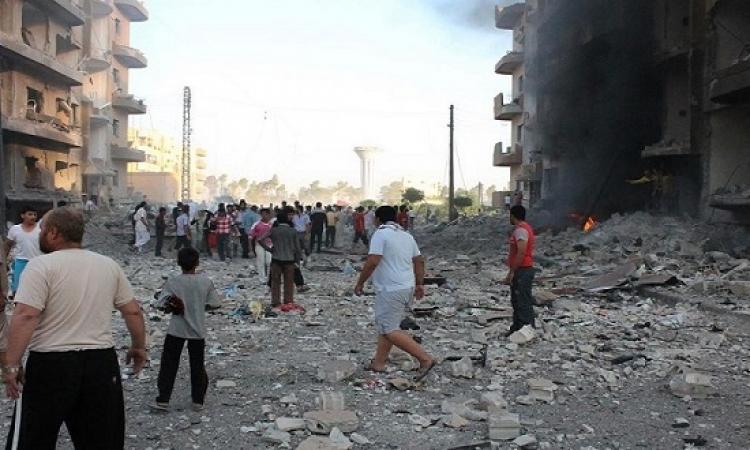 مقتل 25 مدنياً فى غارات على الغوطة الشرقية