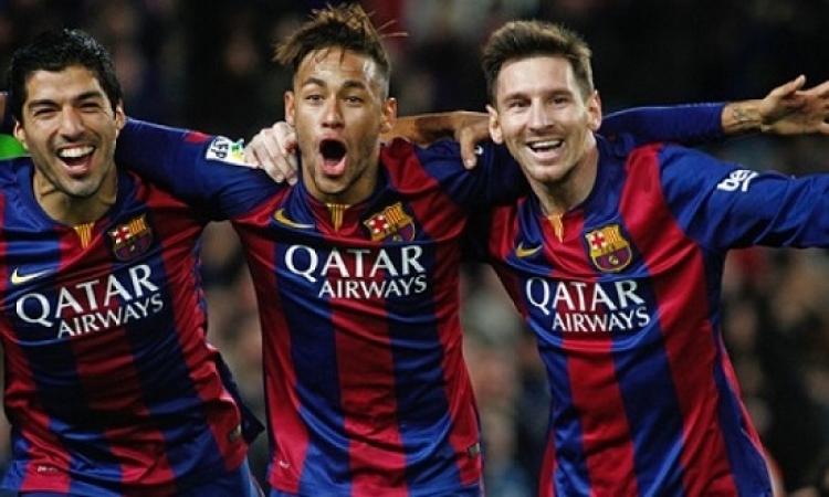 نجوم فريق برشلونة يتصدر قائمة أفضل لاعبى العالم لعام 2015