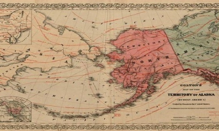 بالصور.. صفقة انتقال ألاسكا من روسيا القيصرية لأمريكا!!
