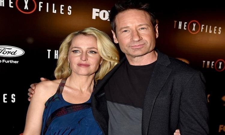 بالصور .. X-Files يعود ونجومه يتألقون فى العرض الخاص