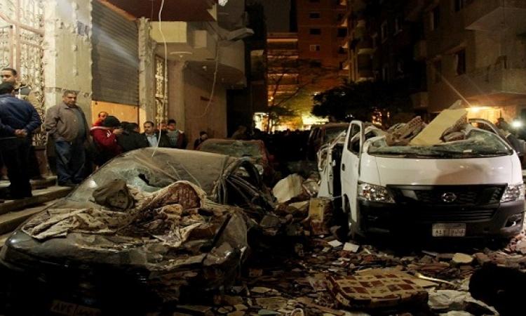 الشرطة تقتل إخوانى بحوزته أسلحة وقنابل داخل شقة بكرداسة