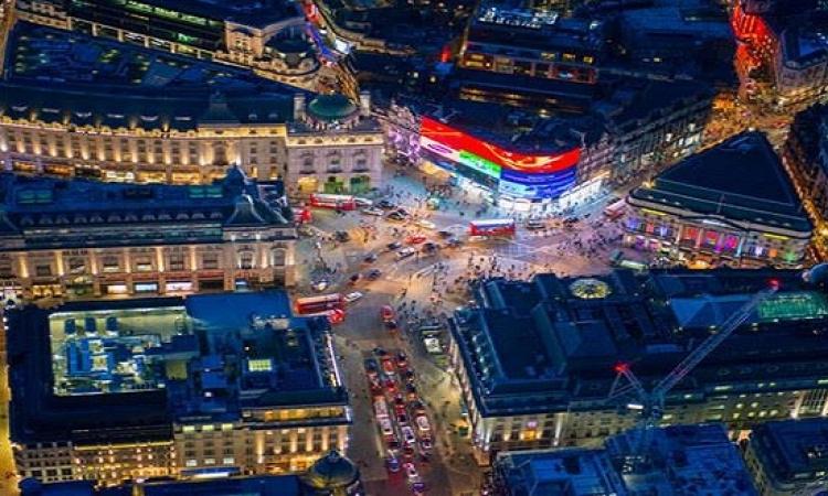 بالصور .. جولة جوية للعاصمة البريطانية لندن