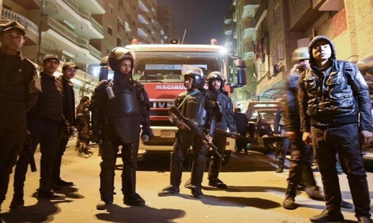 3 شهداء و4 مصابين فى هجوم إرهابى على كمين بالشرقية