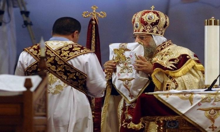 بث مباشر .. قداس عيد الميلاد المجيد بكاتدرائية المرقسية يالعباسية