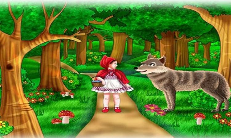 قصة قبل النوم للأطفال .. ليلى والذئب وشهامة الصياد