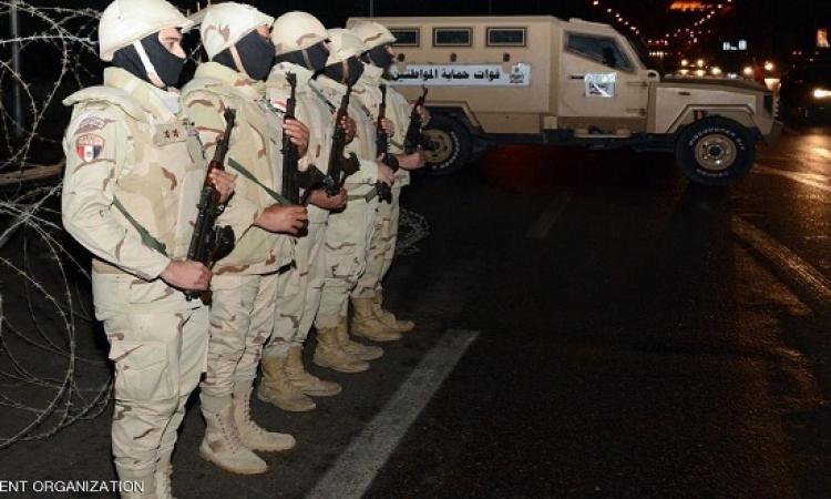 400 ألف مجند من الجيش والشرطة لتأمين احتفالات 25 يناير