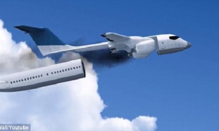 بالفيديو .. كبسولة تنقذ حياة الركاب فى حالة سقوط الطائرة