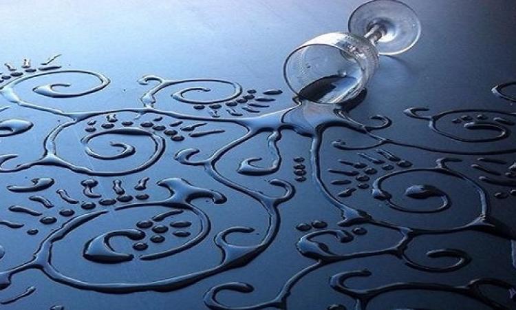 بالصور .. لوحات مذهلة وبديعة من قطرات الماء !!