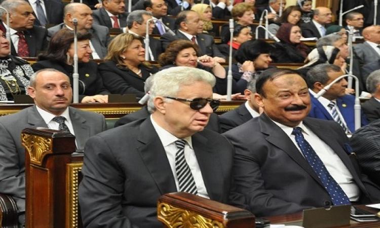 بالفيديو .. مرتضى منصور يتلو اليمين للمرة الثانية بطريقة فكاهية !!