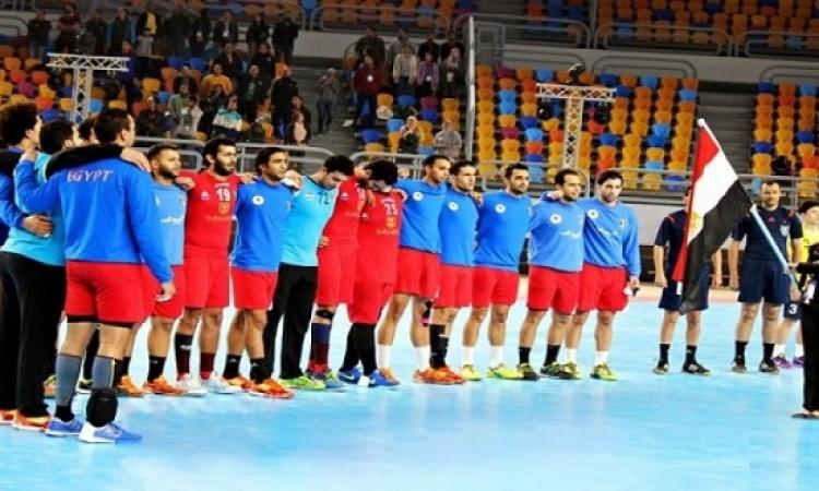 يد مصر تواجه الكونغو فى ربع نهائى البطولة الأفريقية
