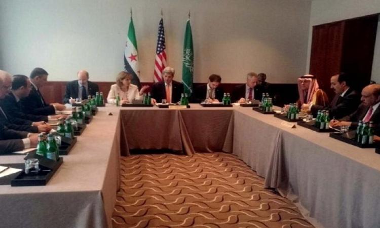 اجتماع سعودى أمريكى مع المعارضة السورية فى ميونخ