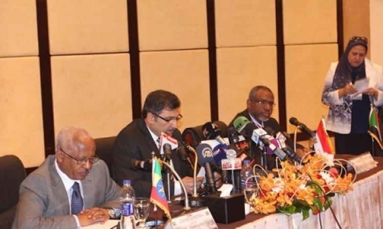 بدء اجتماع وزراء رى مصر والسودان وأثيوبيا بالخرطوم بشأن سد النهضة