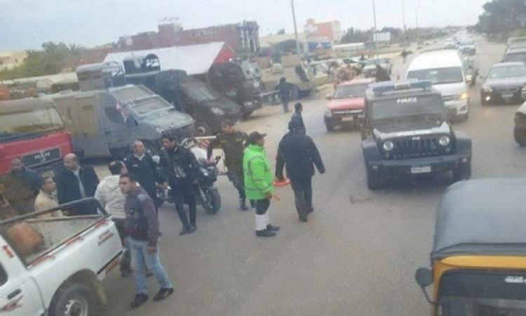 الأمن يمنع دخول الصحفيين استاد برج العرب