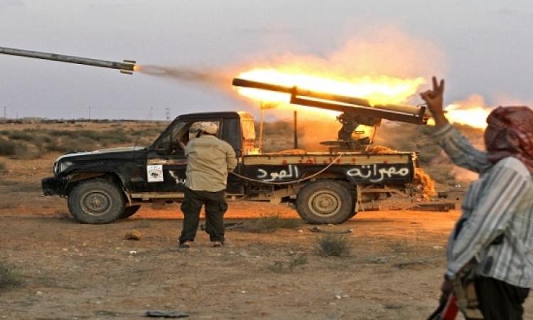 استمرار الاشتباكات فى طرابلس رغم اتفاق وقف اطلاق النار