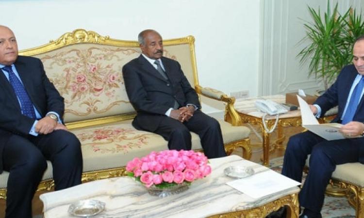 رسالة من رئيس إريتريا للسيسى يسلمها وزير الخارجية